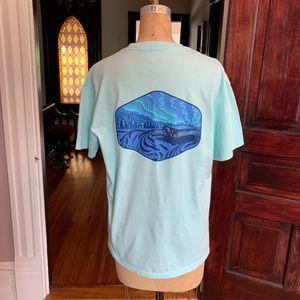 Waters Bluff T-shirt Size Medium EUC